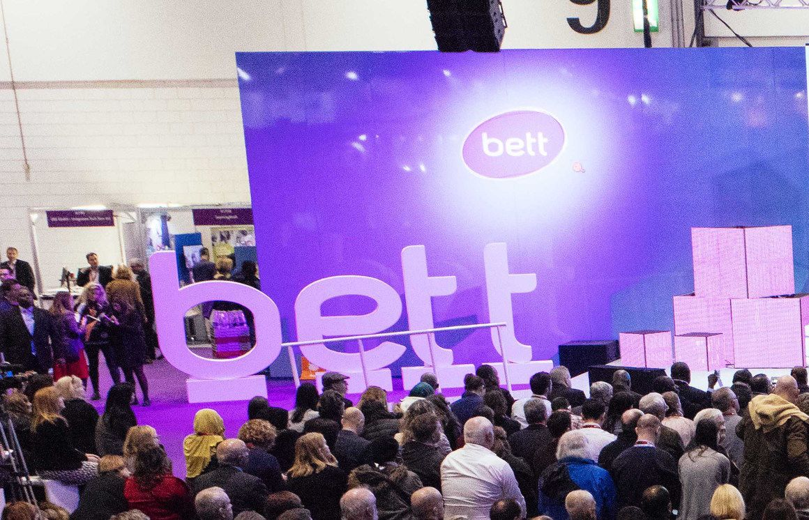 Come and hear us at Bett 2017!