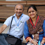Pradeep Ghosh & Shibani Ghosh Putul