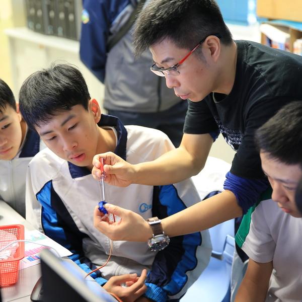 Richard Chung-yiu Yeung, Science Teacher, Carmel Holy Word Secondary School, Hong Kong