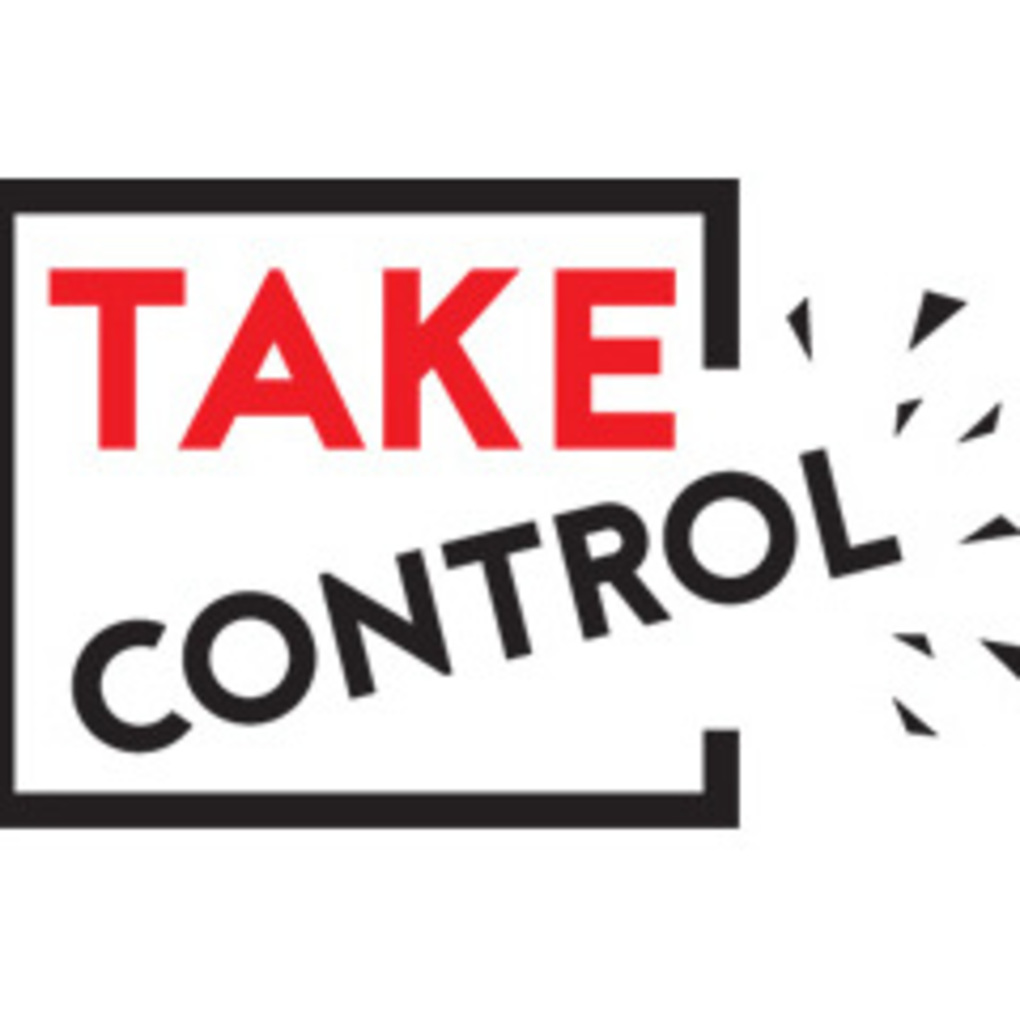 Squared take control square logo