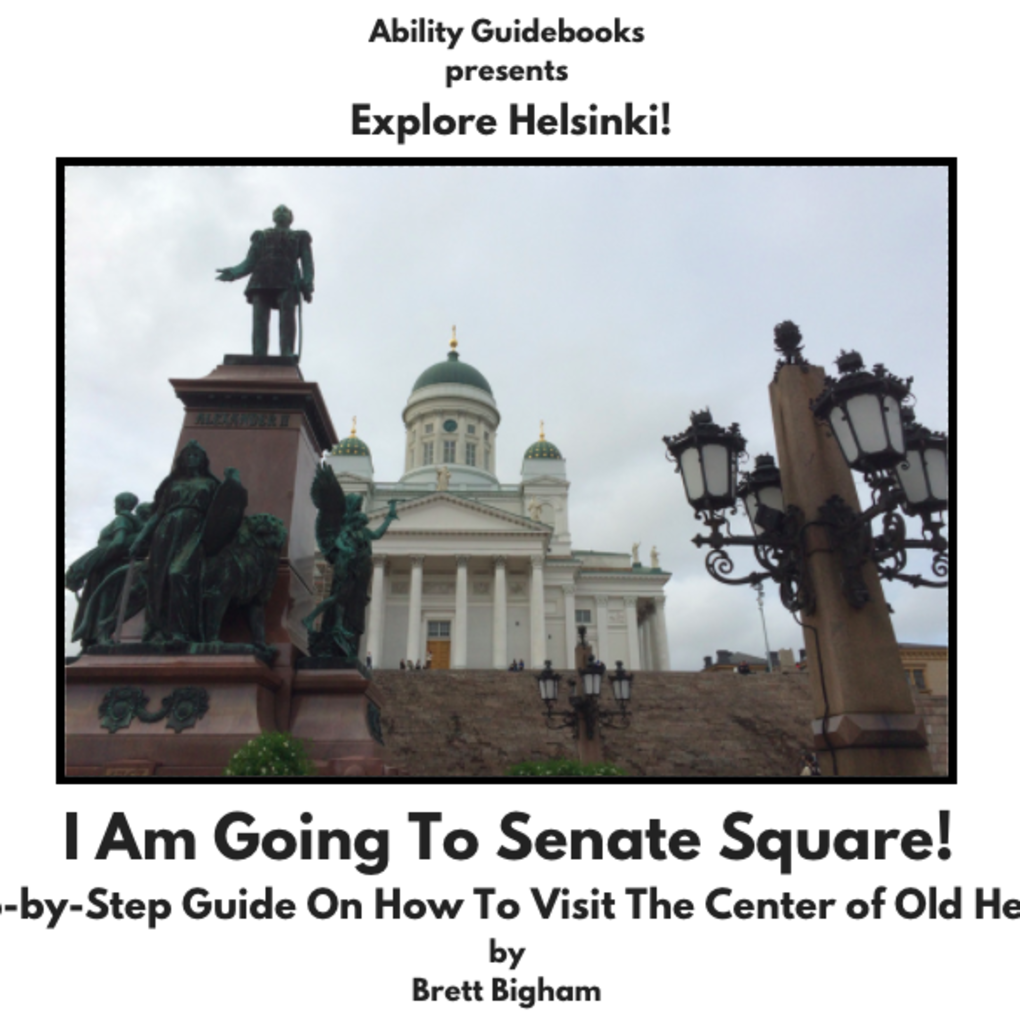 Squared cover senate square helsinki