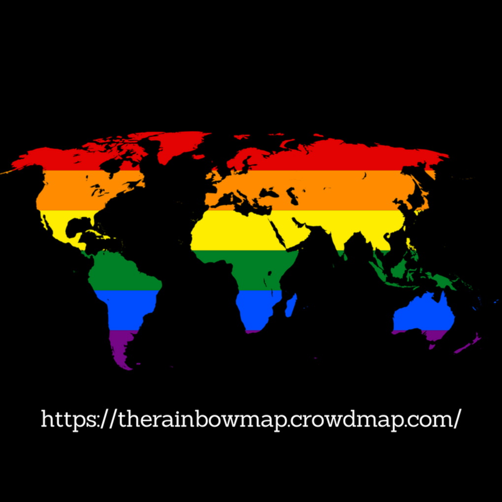 Squared the rainbow map