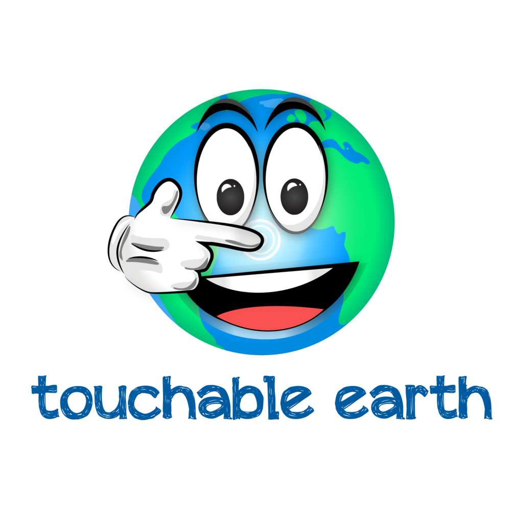 Squared touchable earth logo   blue 01
