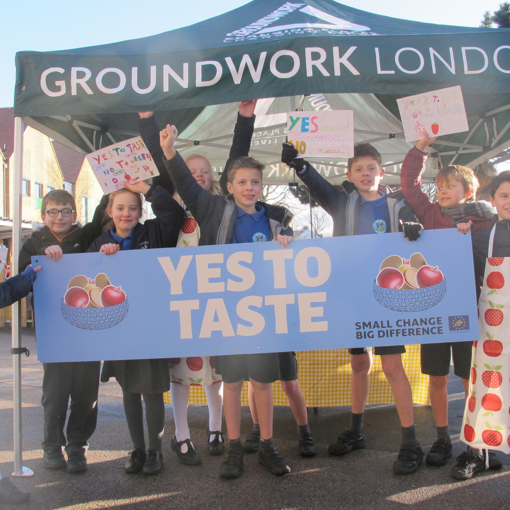 Squared pupils  groundwork tent  yes to taste 4