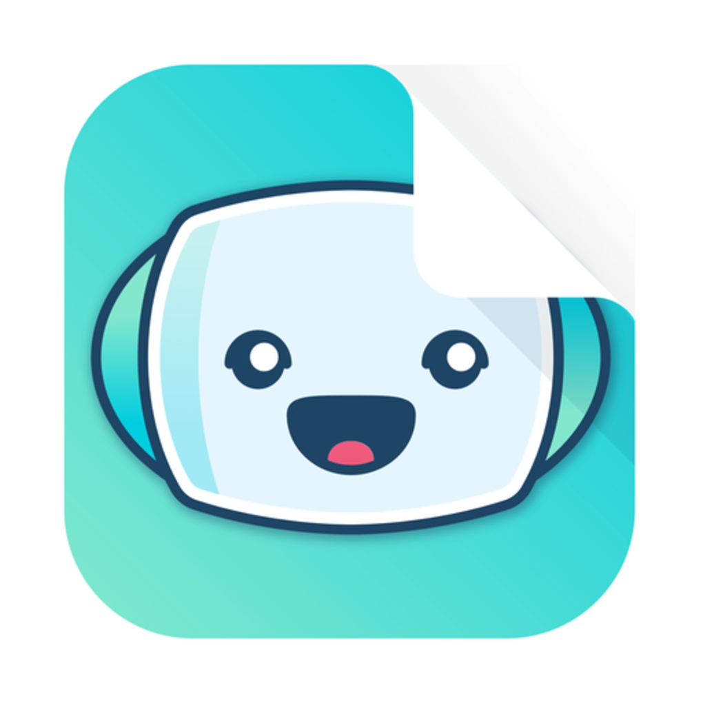 Squared bookbot app icon preview