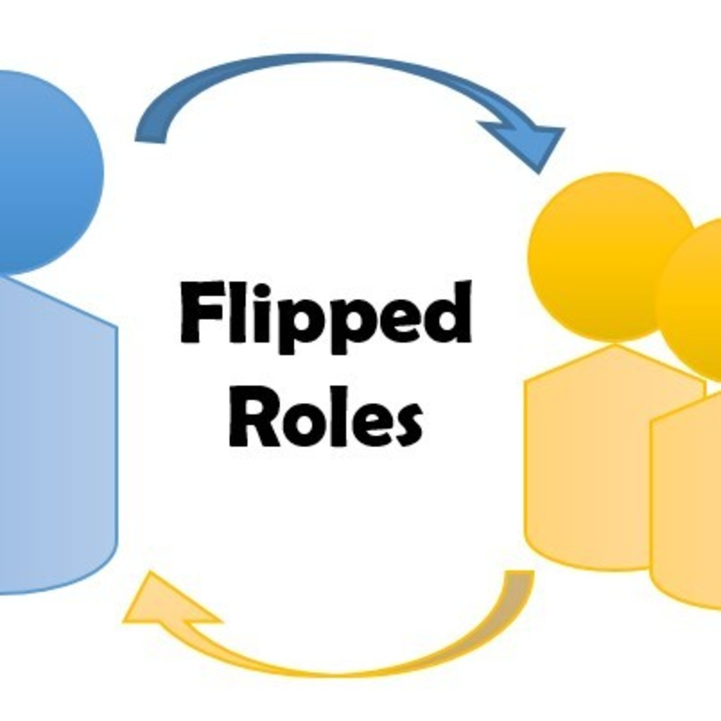 Squared flipped roles