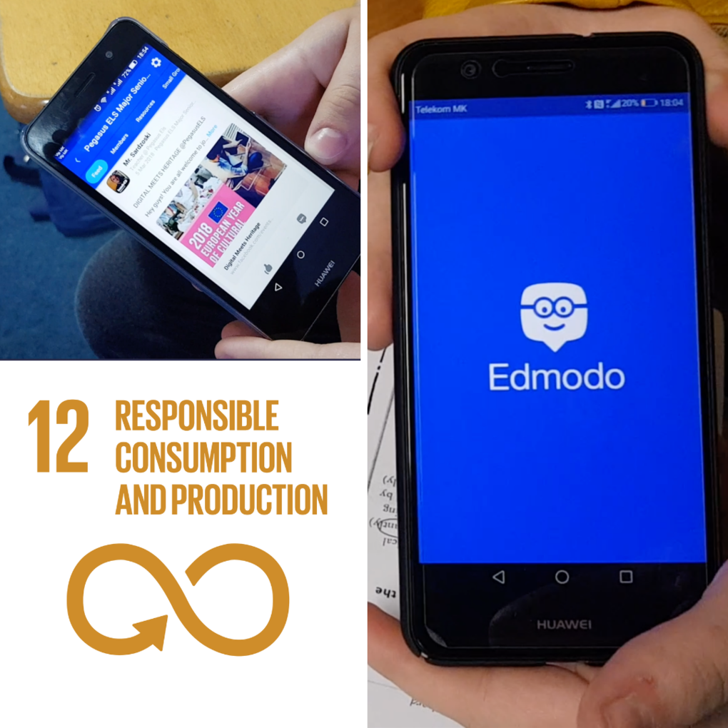 Squared edmodo for sustainability hundred